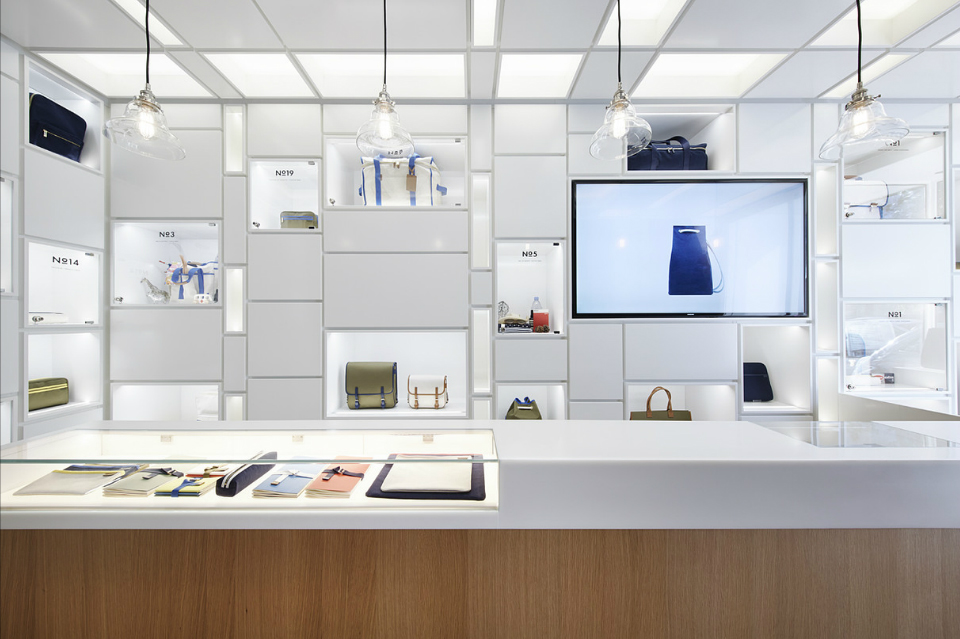 "Wonderwall creates ""Cabinet of Wonder"" inside L/Uniform's new Paris boutique"