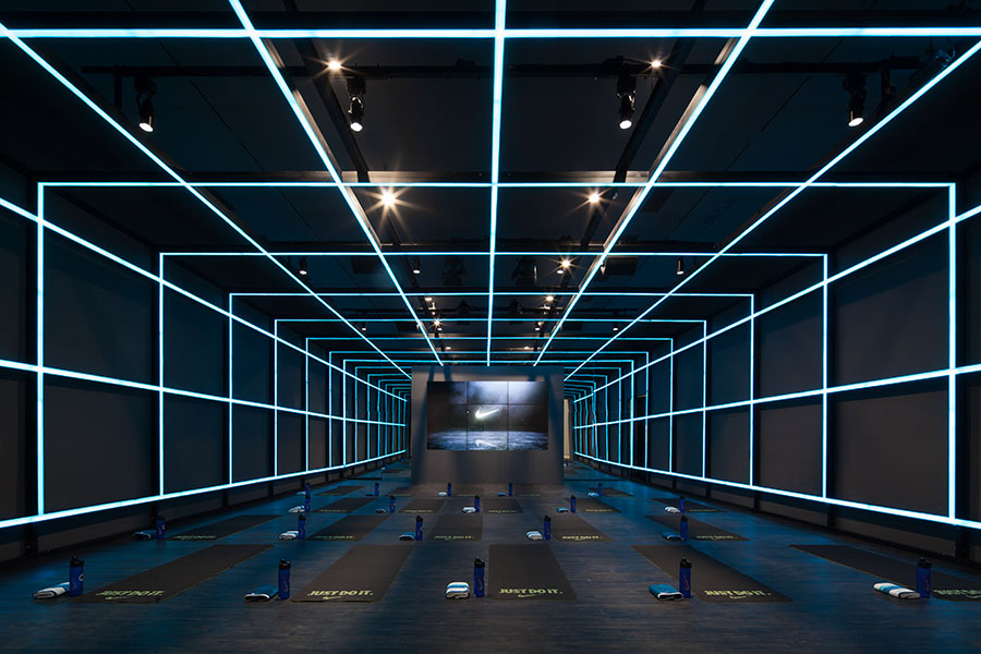 Coordination Asia Transforms Art Gallery into Nike Studio Beijing
