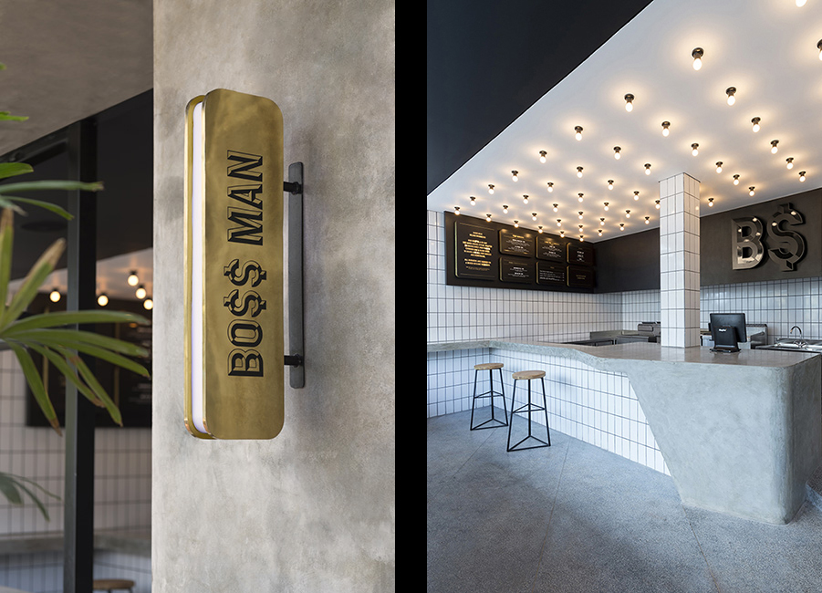 Travis Walton crafts badass burger joint for Bo$$ Man Bali