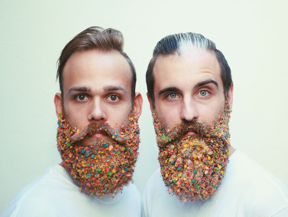 The Gay Beards: Two best friends, two best beards