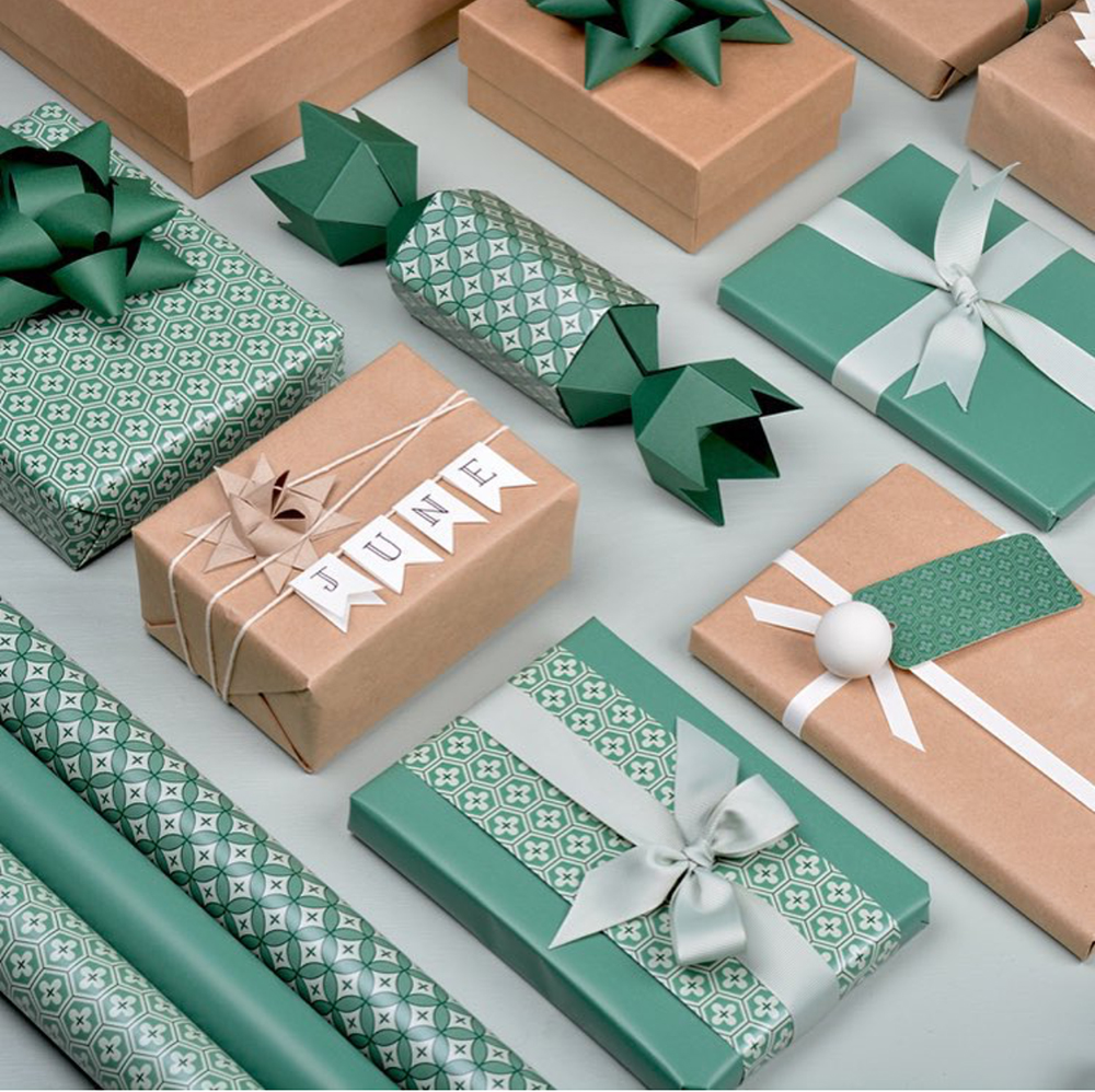 Elegant wrapping paper