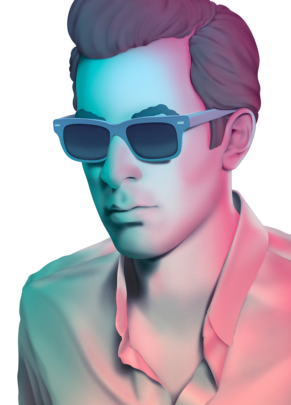 Light infused album artwork for Record Collection, the third studio album by music producer, Mark Ronson. Released under the moniker Mark Ronson & The Business Intl.