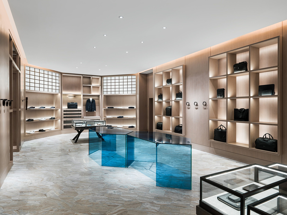 The shape of things yabu pushelberg designs ports 1961 39 s for Interior design agency shanghai