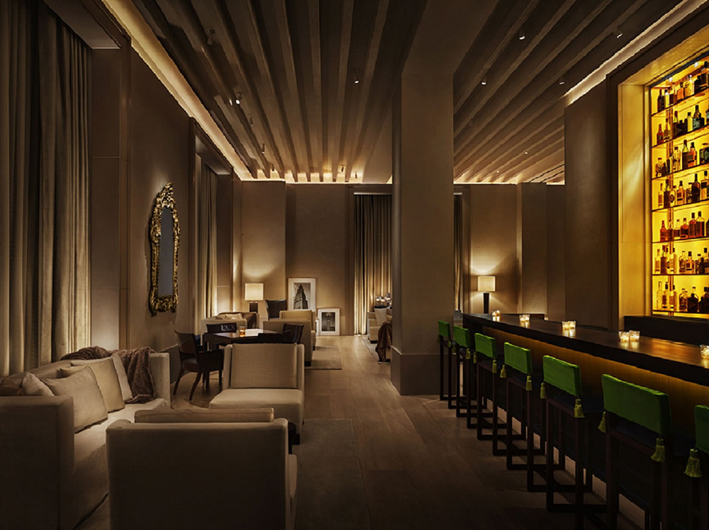 Yabu Pushelberg warm and elegant design of The New York EDITION Hotel