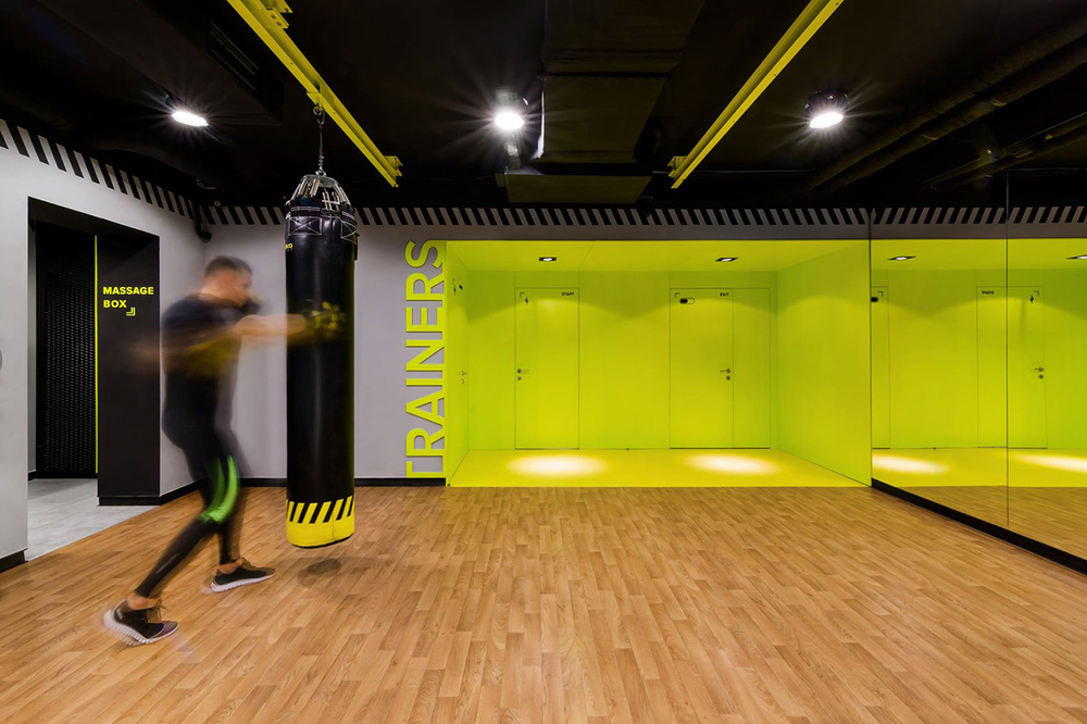 Gym-spiration: Soesthetic Group Creates High-impact Gym In