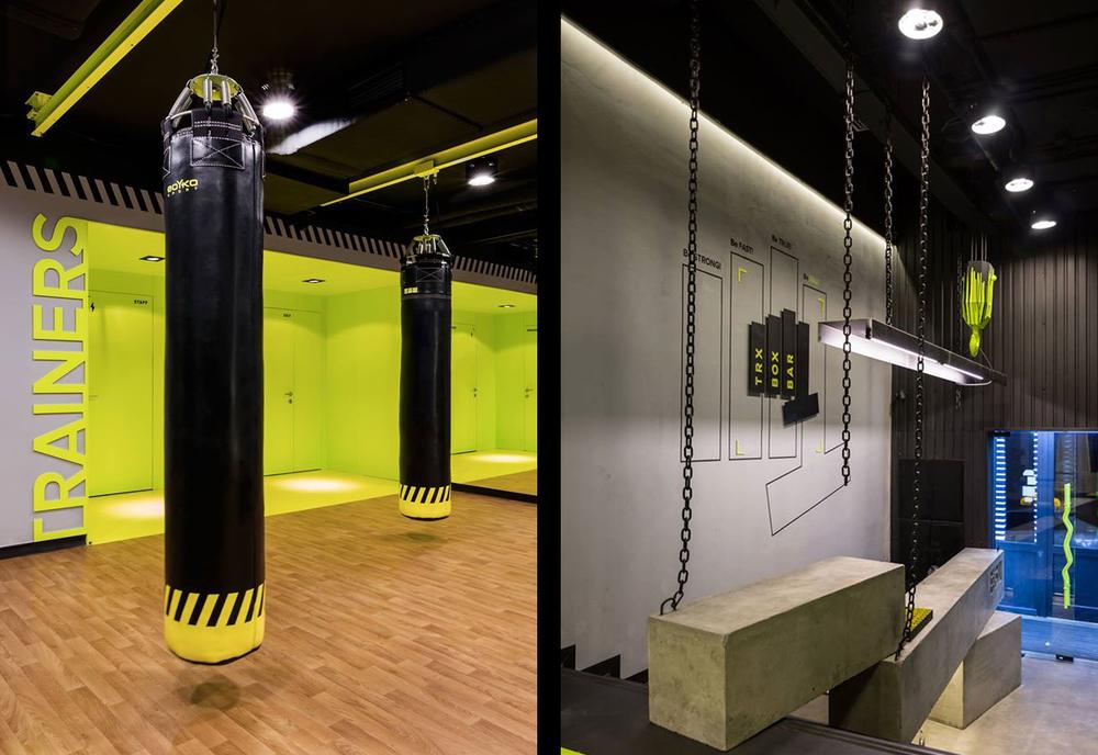 Gym Spiration Soesthetic Group Creates High Impact Gym In Kiev Knstrct