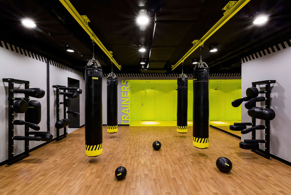 Soesthetic Group Creates High Impact Gym In Kiev