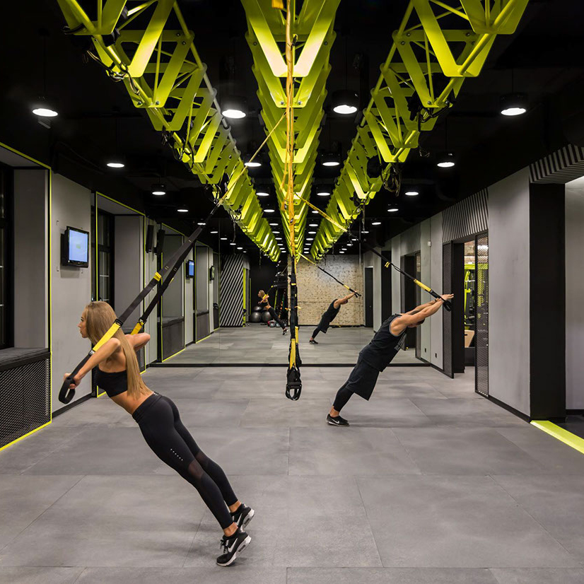 Gym Interior Fitness Design And: Gym-spiration: Soesthetic Group Creates High-impact Gym In