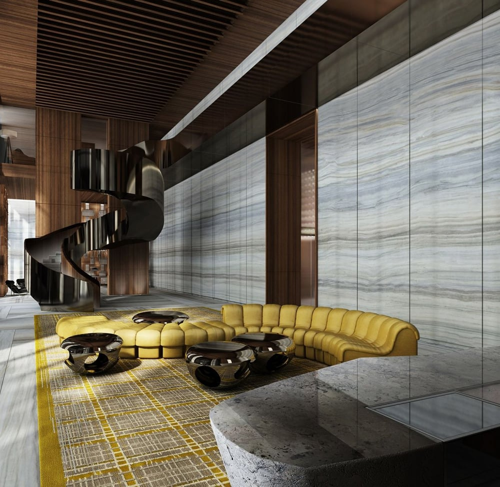 Biscayne beauty yabu pushelberg designs miami 39 s brickell - Blog di interior design ...