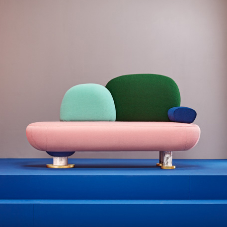 Masquespacio Goes Memphis With Toadstool Furniture Collection For