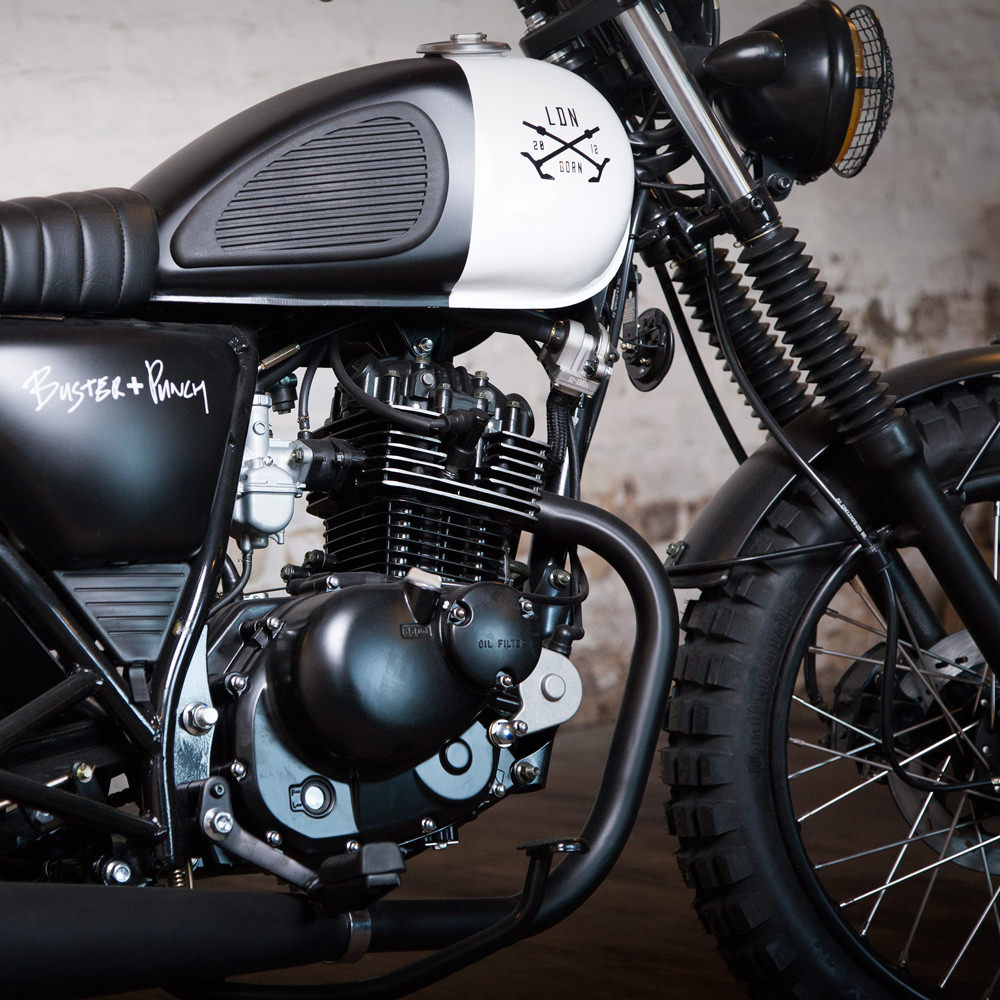 Buster + Punch team up with Mutt Motorcycles for limited LDN born beast
