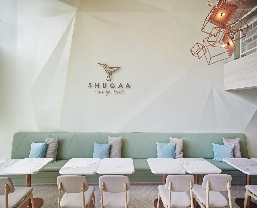 SHUGAA dessert bar designed by Party/Space/Design