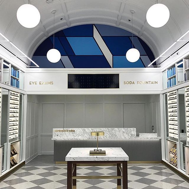 New @warbyparker shop takes shape in original Vernor's Pharmacy in #Detroit
