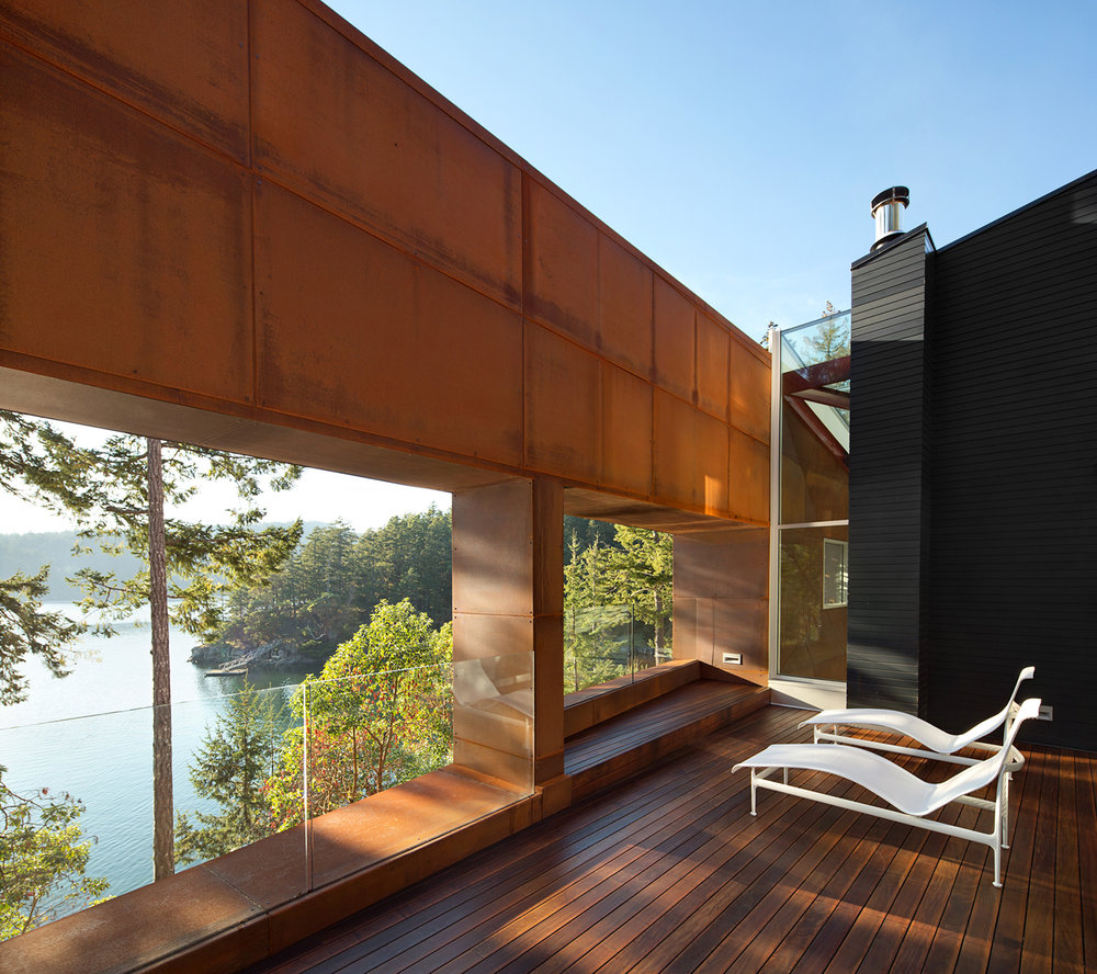 Gulf Islands Vancouver deck