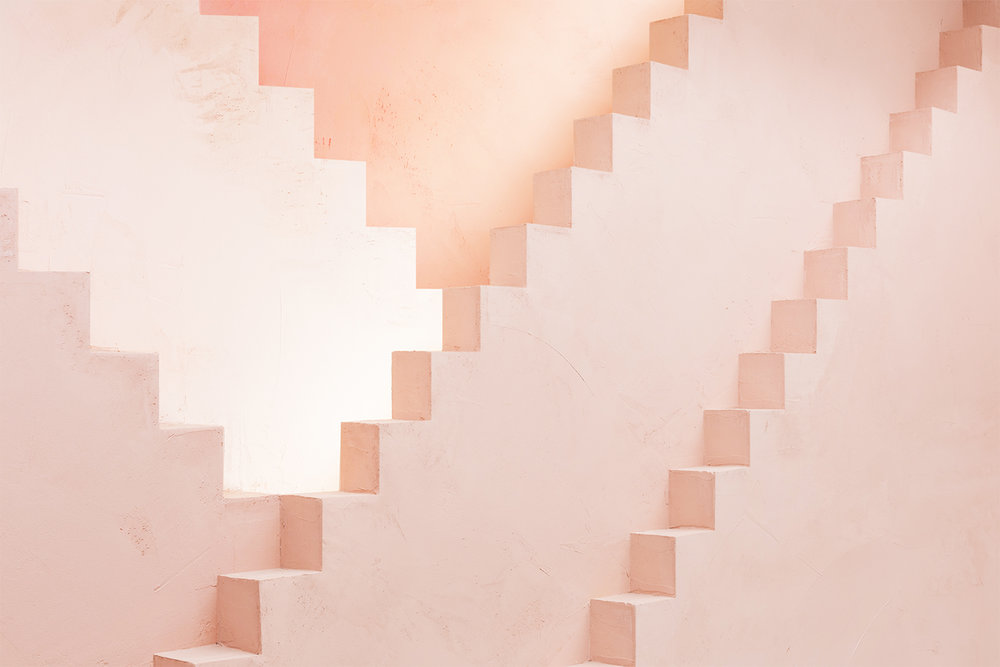 Pink stairs Novelty Apparel