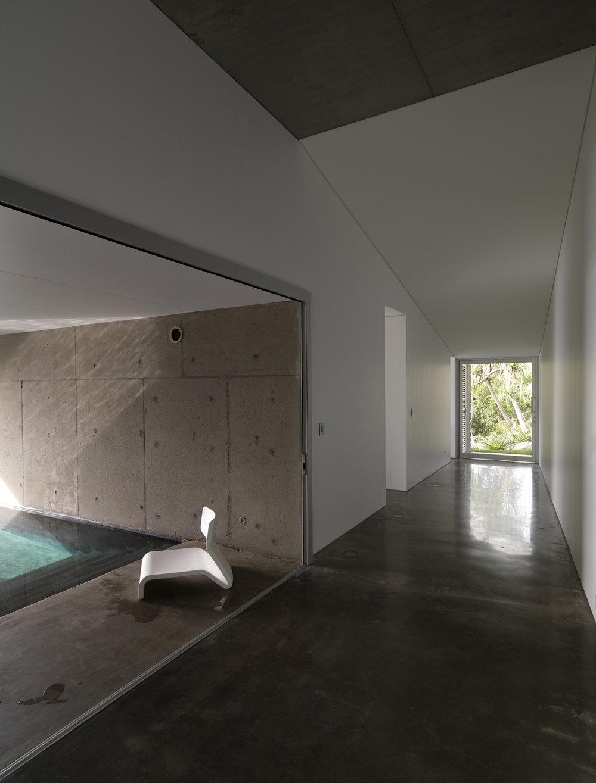 Solis House hallway