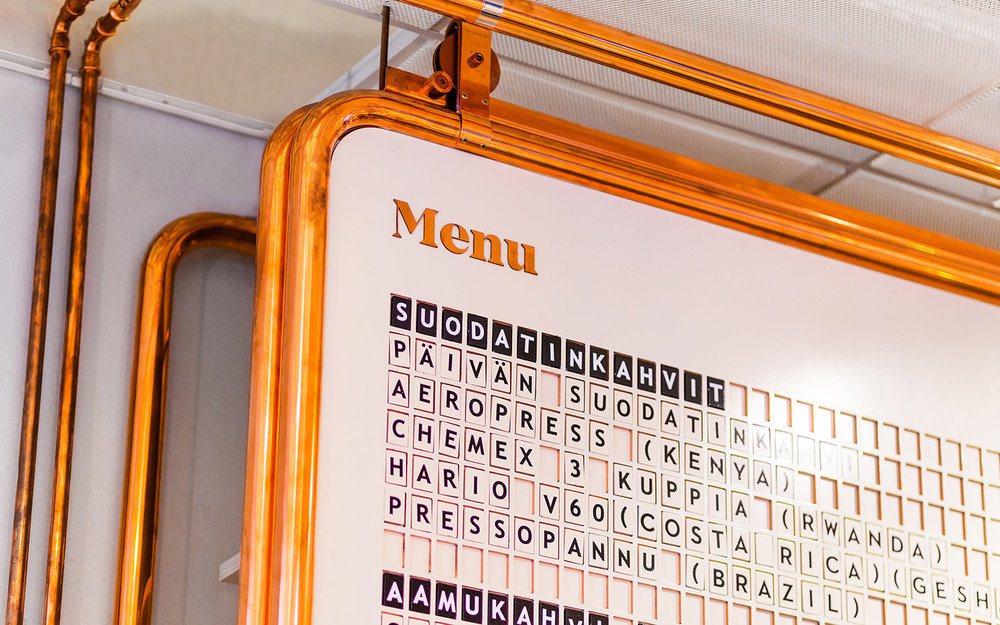 Paulig Kulma menu