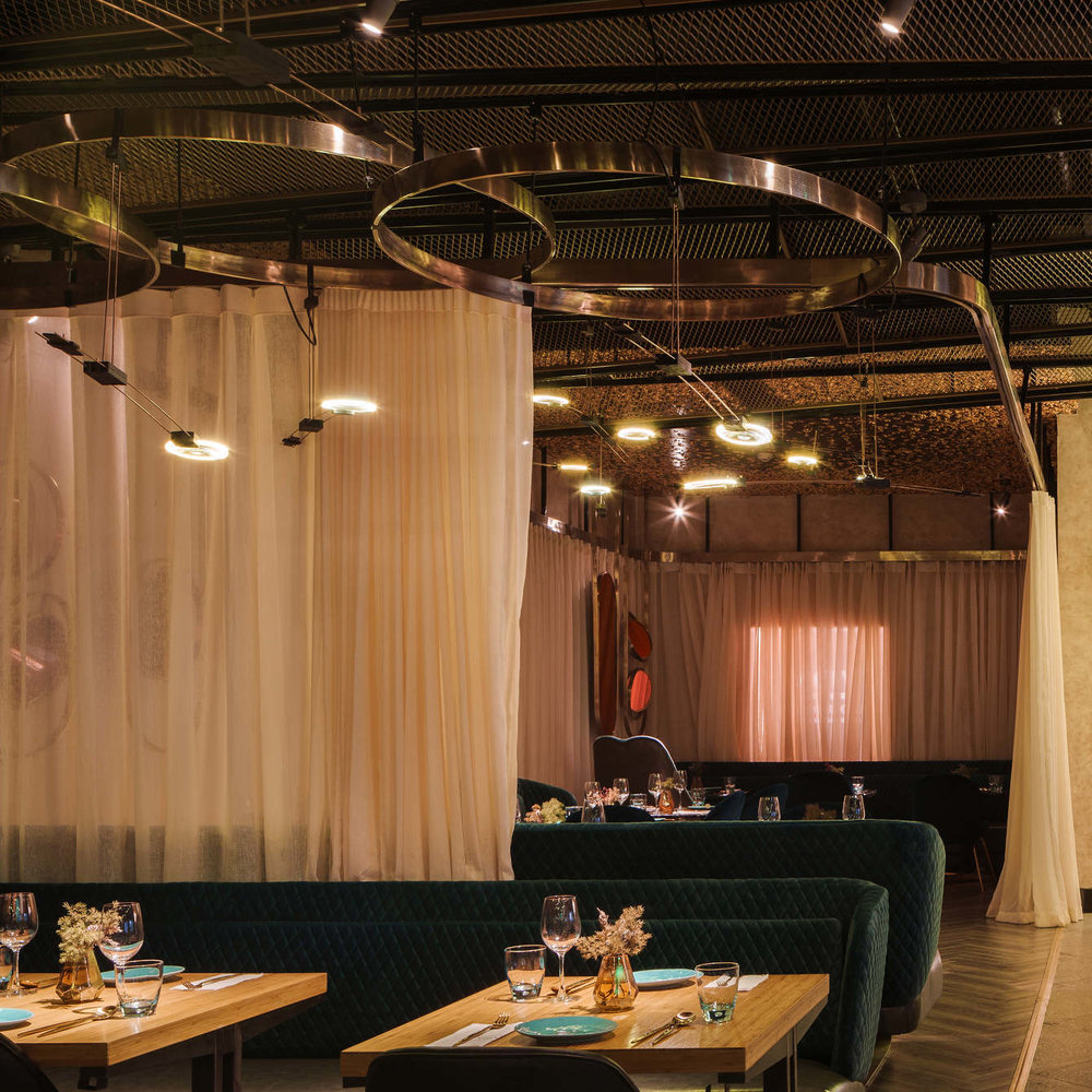 vida restaurant serves up sumptuous touches — knstrct