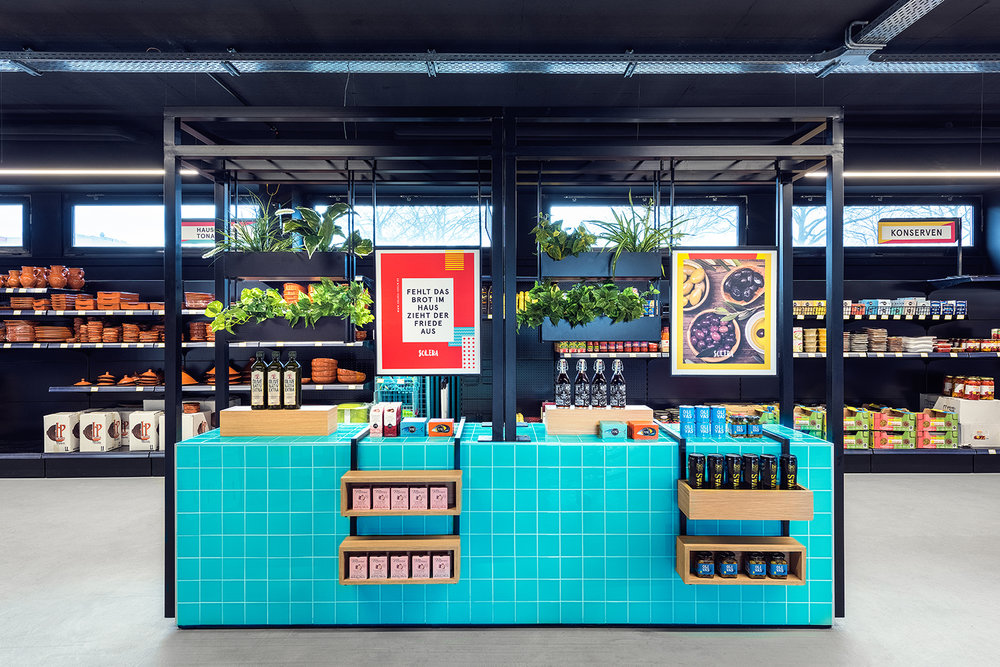 solera supermarket sampling station