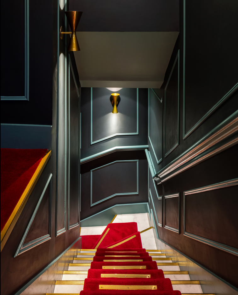 Disrepute stairs