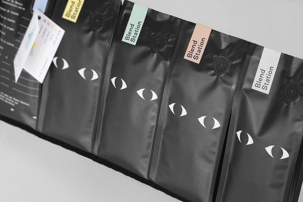 Blend Station coffee bag