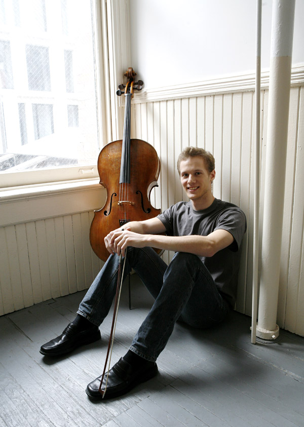 Sebastian Baverstam , cello    May 2011