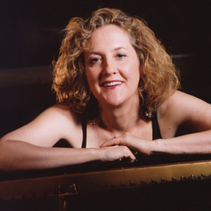 Tina deVaron, piano and vocals May 2009