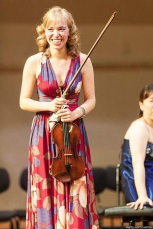 Robyn Bollinger, violinist November 2014