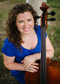Emileigh Vandiver , cellist    February 2015