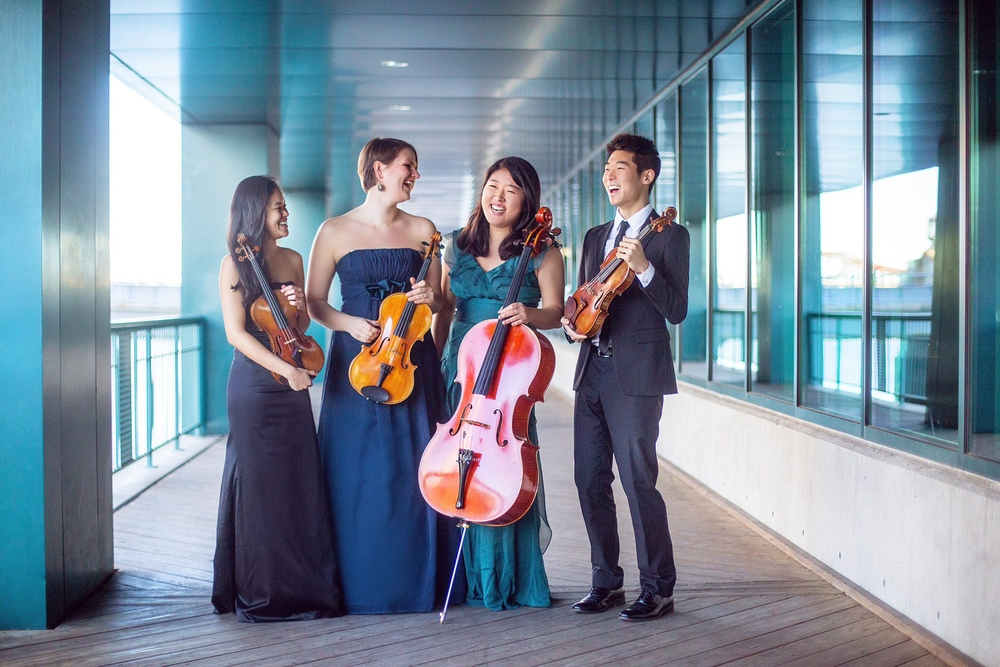The Huntington Quartet     March 2015