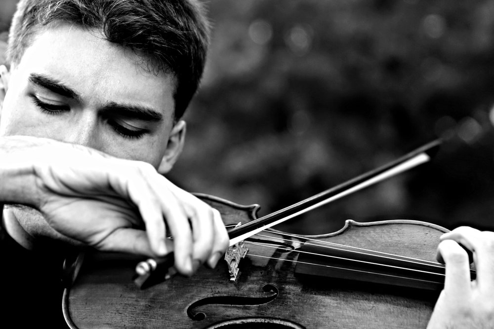 Alexi Kenney, violinist November 2015