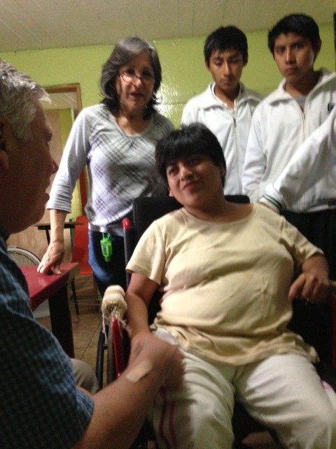 Eye Care at Special Needs Orphange