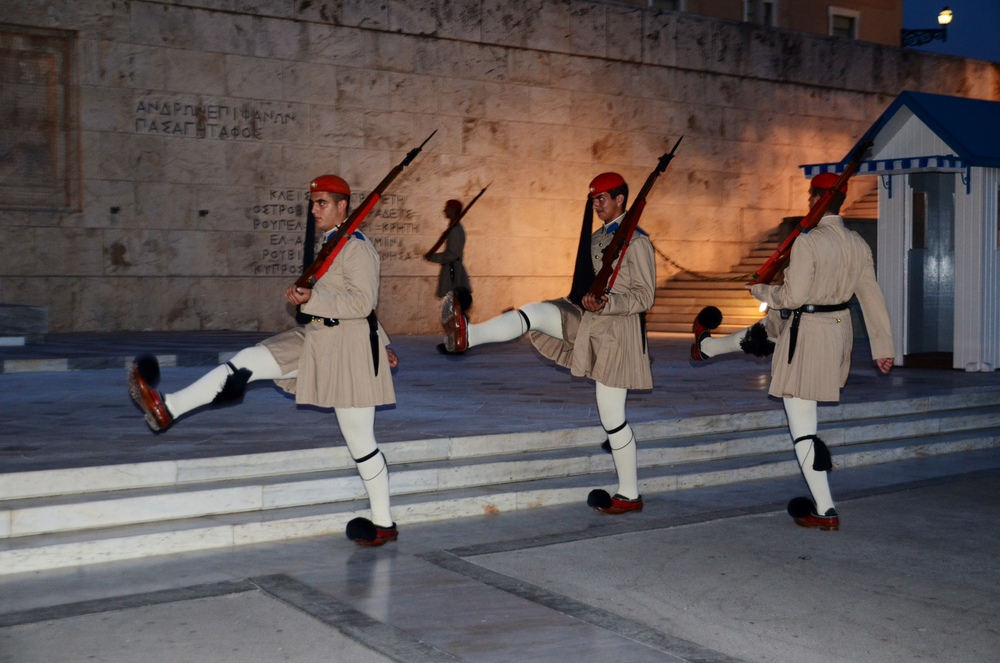 Changing of the guard at Syntagma