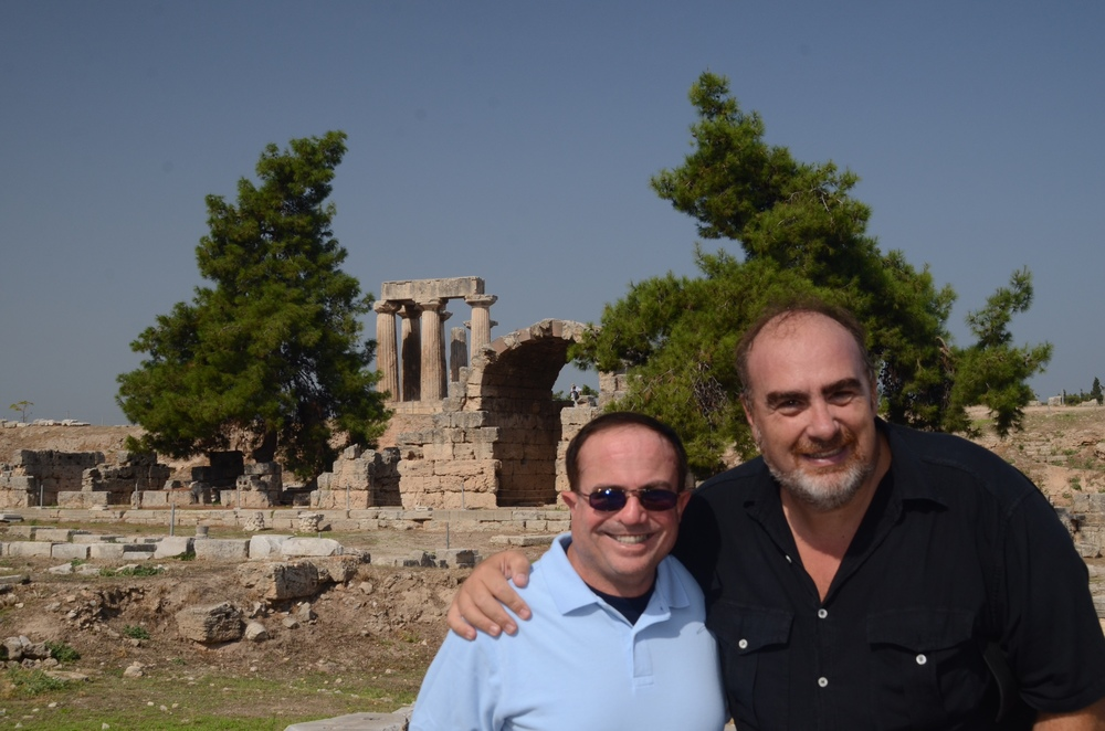 David with Pastor Argyris