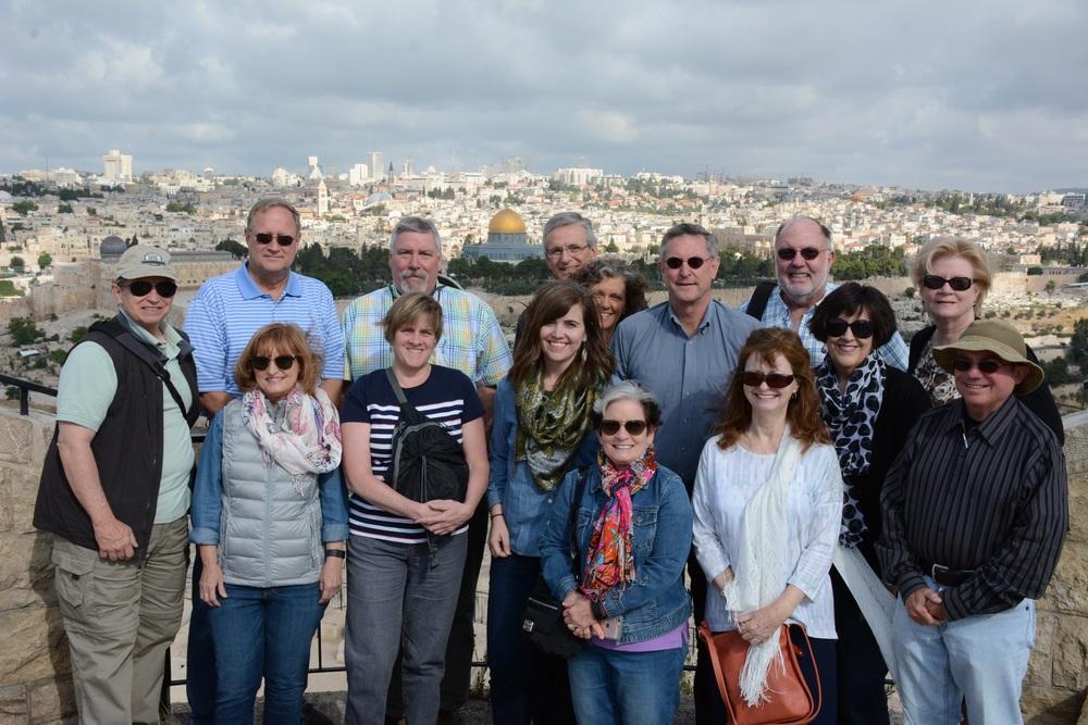 The Mount of Olives, overlooking Jerusalem Old City