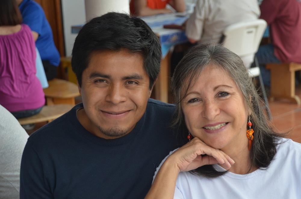Maria in Oaxaca, Mexico in 2014.