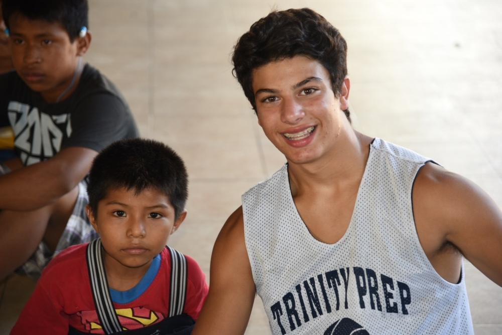 Luke at Casa Hogar in 2015.