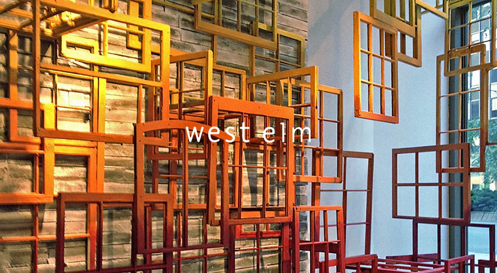 West Elm : Window Display Design