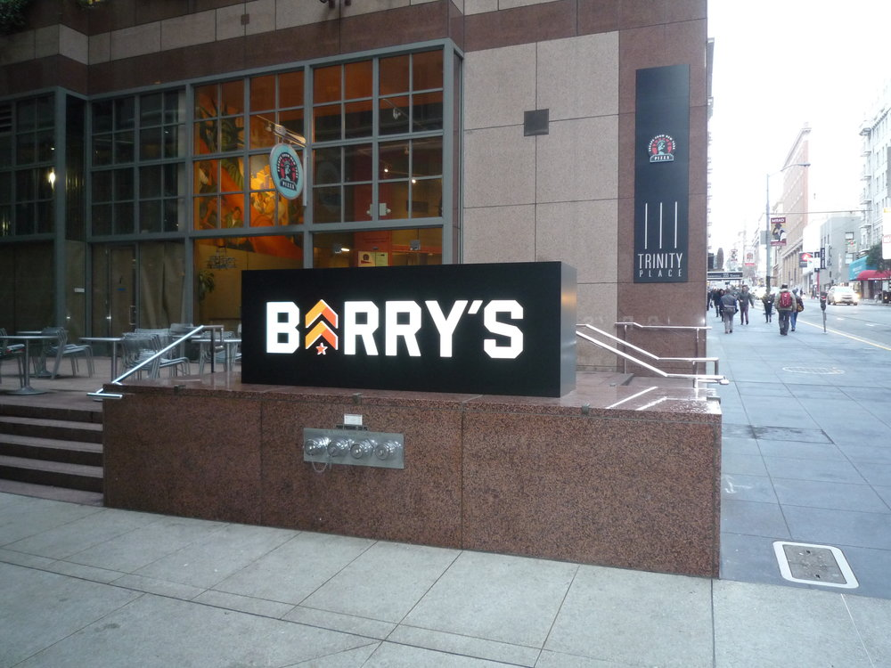 Barry's Bootcamp new location at 333 Bush Street