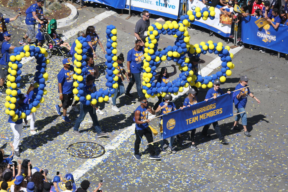 warriorsparade