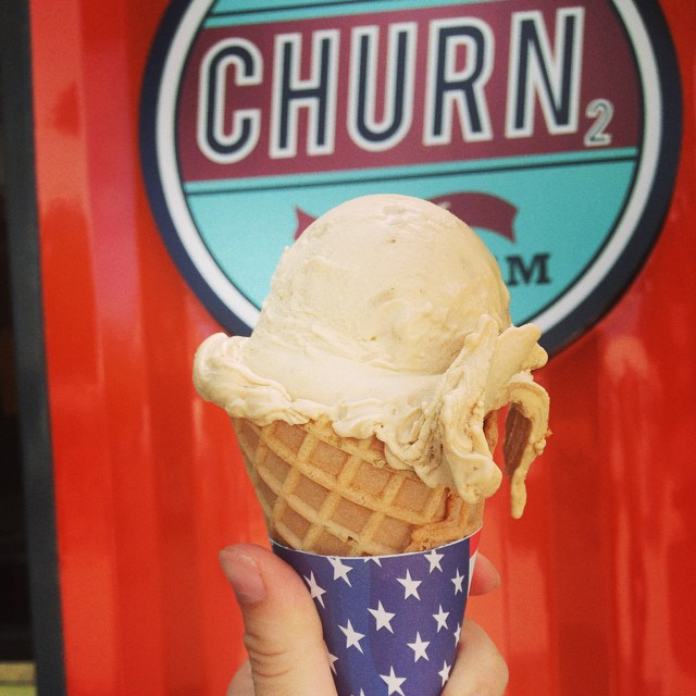 Churn2 Cappuccino ice cream on a waffle cone. Happy Tuesday! #Tuesday #churn2 #cappuccino #icecream #improperbostonian #sweet #icy #delish #boston #harvard #harvardsquare #foodie #foodporn #fresh #refreshing #coffee #cambridge #LN2 #liquidnitrogen #love #instafood #instasweets #sweet #science #churn2 #bostoneats #magic