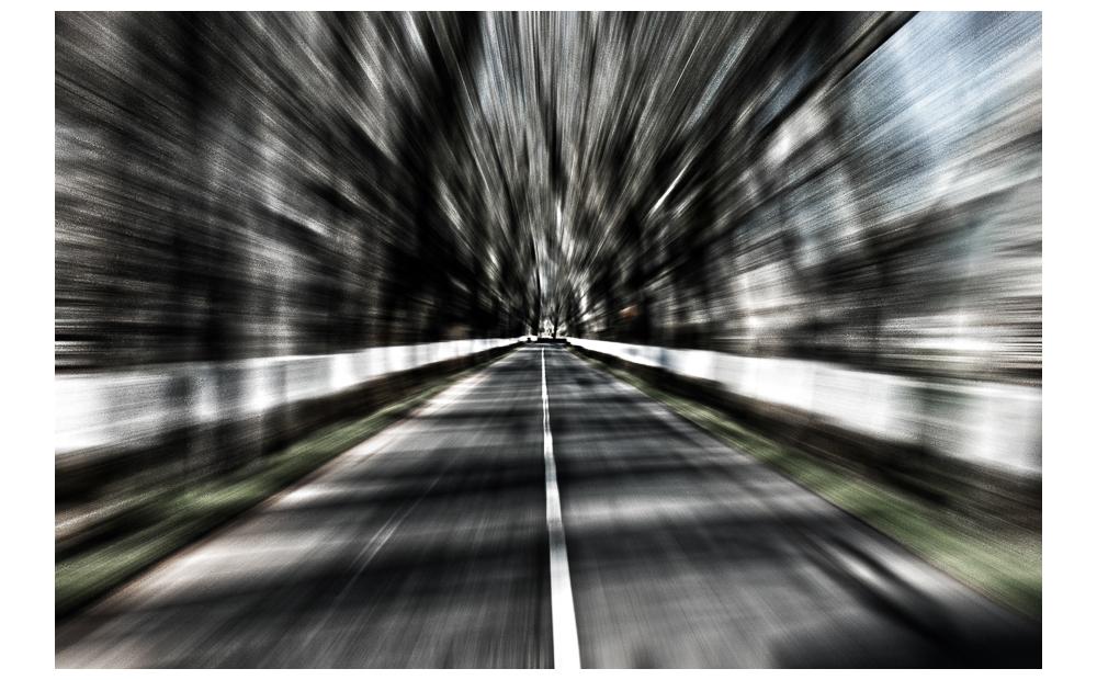 velocidade na estrada