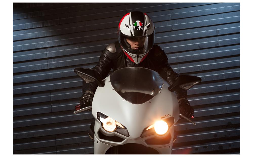 Ducati biker