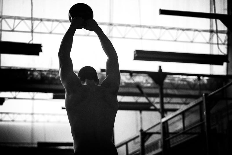 Gonçalo Barriga-atleta CrossFit kettlebell