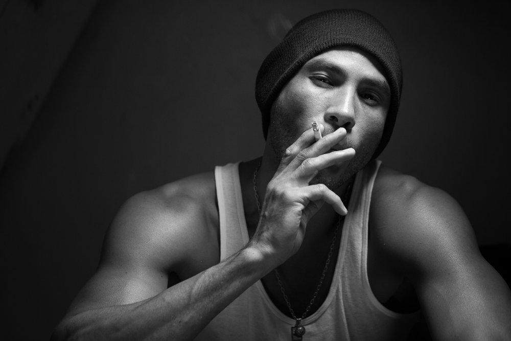 Gonçalo Barriga Photographer - Black & White Male Portrait