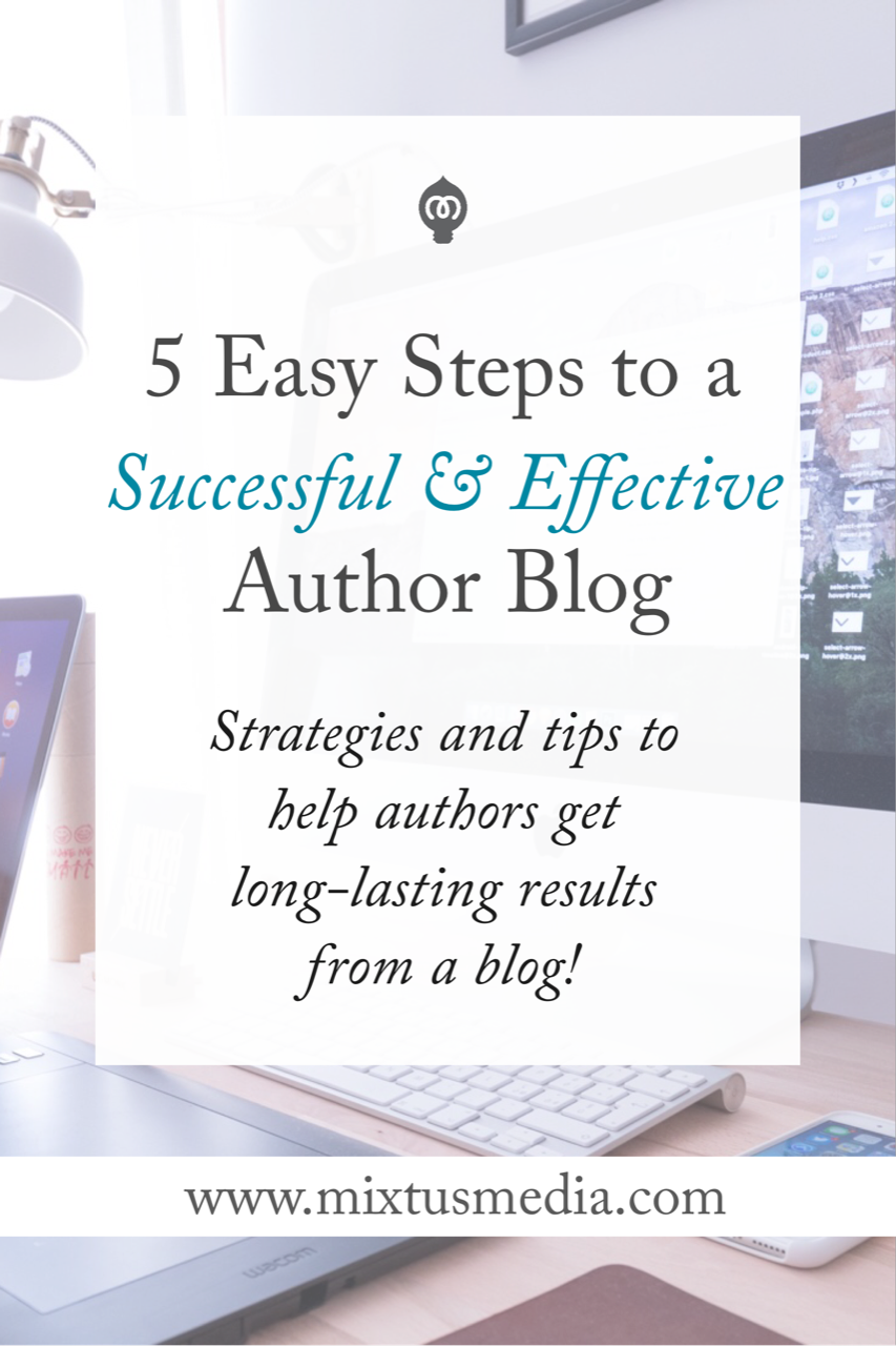 Make your blog more effective and reach more people! Easy to apply strategies and step-by-step tips to help authors get long-lasting results from a blog.