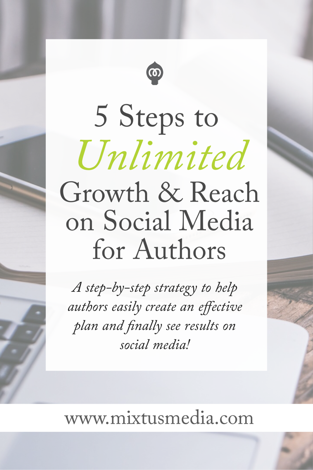 A step-by-step strategy to help authors easily create an effective plan to finally see results on social media.