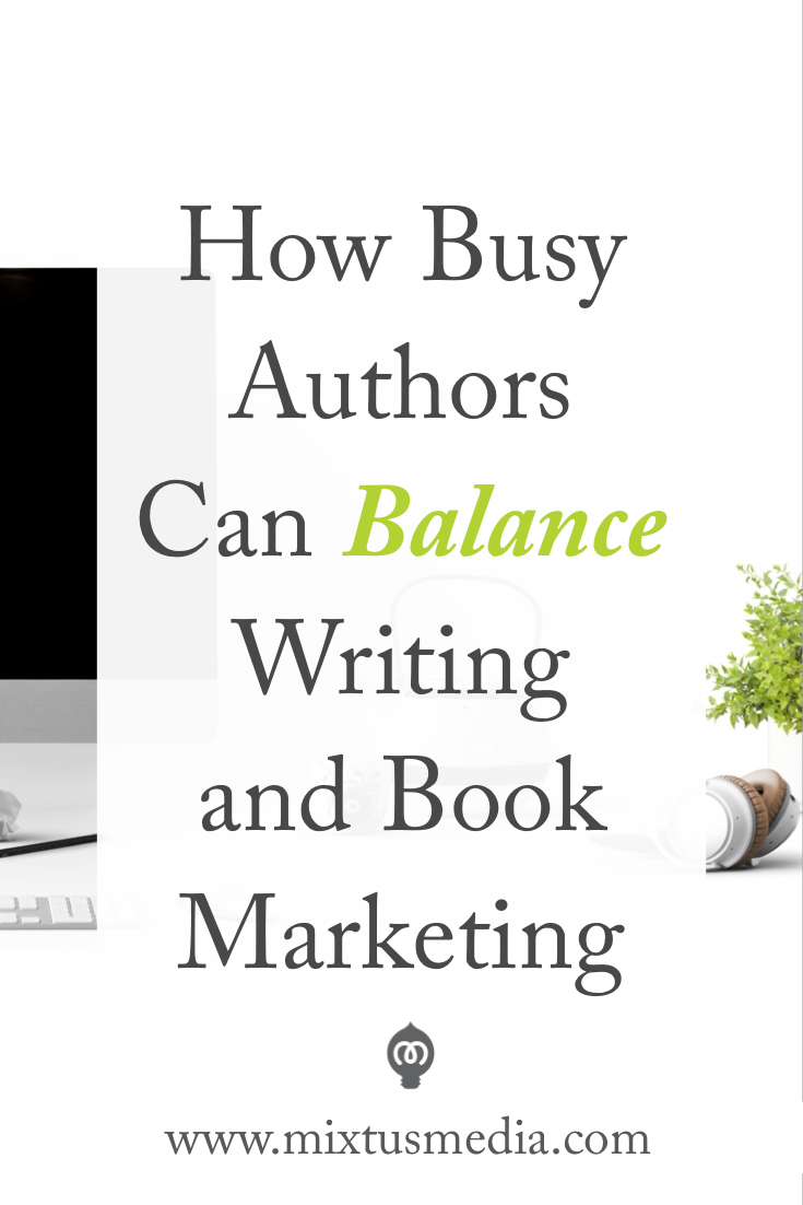 The strategy, mindset, and approach to help authors write books and successfully market them - without feeling overwhelmed!  Book Marketing, book marketing strategy, author balance, scheduling, self publishing, promotions