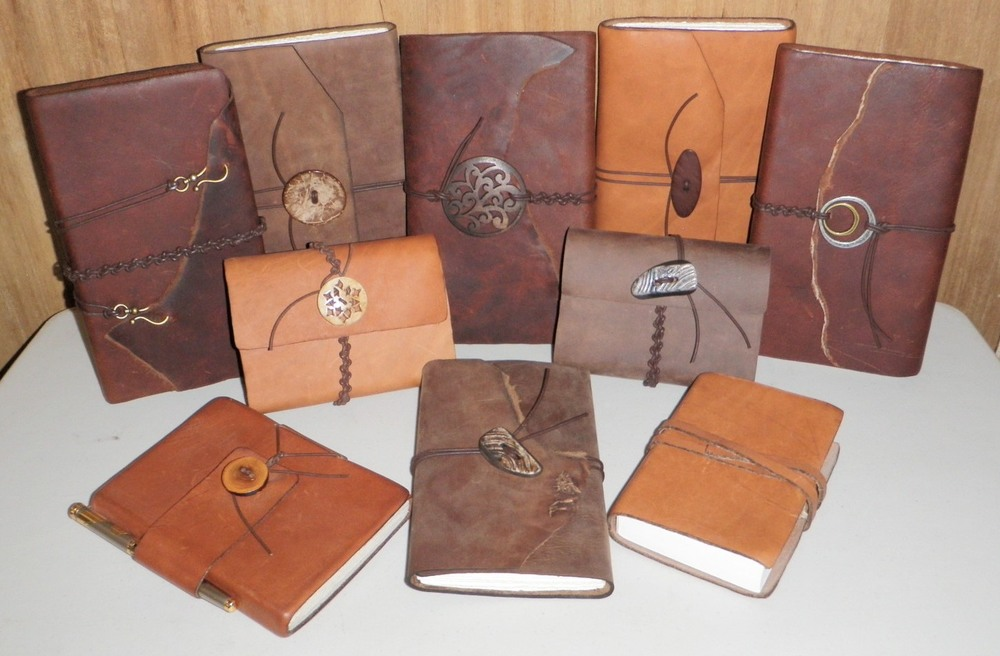 Custom Handmade Leather Journals  from $100