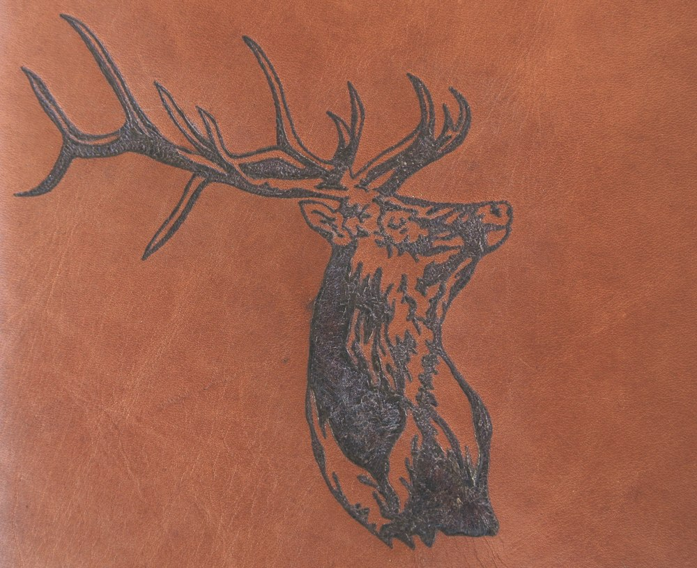 Circle M-Brand heat engraving Elk.JPG